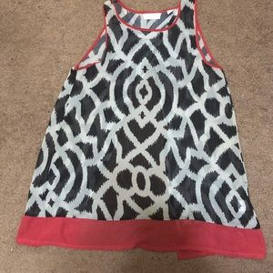 Sleeveless, open back top